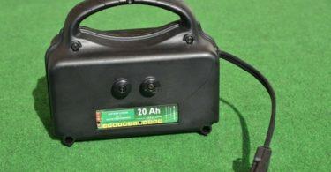 le rôle d'une batterie chariot golf